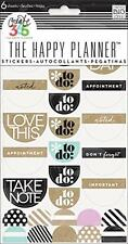 """me & my BIG ideas Create 365 The Happy Planner Neutral """"To Do"""" Stickers, 6 Sheet"""