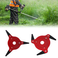 3 Steel Blades Razor 65Mn Lawn Mower Grass Eater Trimmer Head Brush Cutter Tool]