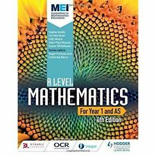 MEI A Level Mathematics Year 1 (AS) by Val Hanrahan, Susan Whitehouse, Cath Moore, Sophie Goldie, Jean-Paul Muscat (Paperback, 2017)