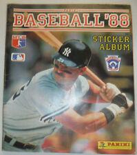 Baseball Magazine Sticker Album Stick Album USED 10% Filled 1988 020915R
