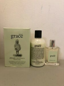 Philosophy ETERNAL GRACE Set (2oz - Eau de Toilette + 8 oz Shower Gel) NIB *RARE