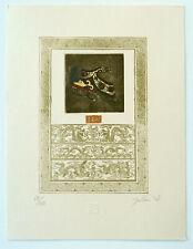 Malou Hung, Hong Kong, Exlibris  Radierung etching II