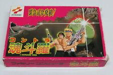 Contra Nintendo Famicom 8-Bit Japan Japanese aka Gryzor Original Cartridge RC826
