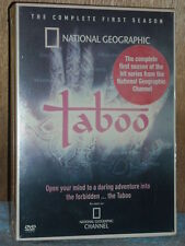 Taboo: The Complete First Season (DVD, 2004, 4-Disc Set)
