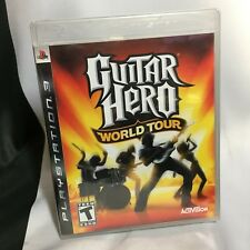 PS3 Guitar Hero: World Tour - Sony PlayStation 3, 2008 - BRAND NEW SEALED