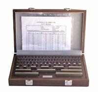 Parallel Endmaßsatz Endmaße - Endmaßkasten 87 Teile - 1,001-100 mm Güte 2 - NEU