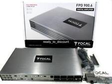 FOCAL FPD 900.6 CLASS D 6 CHANNEL BRIDGEABLE CAR AUDIO AMPLIFIER AMP 900W RMS