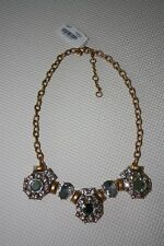 J.Crew Factory Triple Stone Cluster Necklace NWT