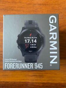 Garmin Forerunner 945 Nuevo  - Negro con correa negra 47mm