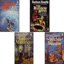 LOT 4 Barbara Hambly RAINBOW WITCHES WENSHAR LADIES MANDRIGYN SILICON MAGE mnp