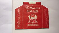 OLD EMPTY CIGARETTE PACKET LABEL FROM AUSTRALIA, ROTHMANS KING SIZE REDS