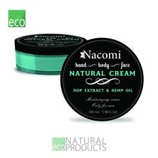 Nacomi Natural Moisturizing Cream Only for Men Hop Extract & Hemp Oil 100ml