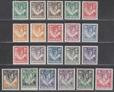 Northern Rhodesia 1938-52 King George VI Set Mint SG25-45 cat £250