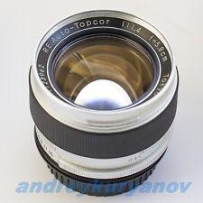 Topcor RE 5.8 cm/f1.4 Tokyo Kogaku Japan/Canon+AF programmable chip-dandelion.