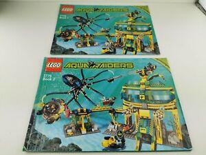 Lego®  7775 Aquabase Invasion nur Bauanleitung only building instruction