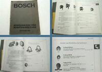 Bosch Erzeugnisse für Kraftfahrzeuge Katalog + Preisliste 1931 seltene Ausgabe