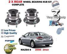 FOR MAZDA 6 1.8i 2.0i 2.0DT 2.2DT 2.5i SPORT 2008-> 2 X REAR WHEEL BEARING KIT