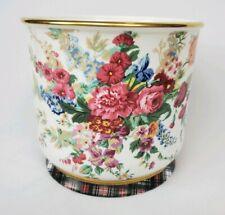 RARE Ralph Lauren HAMPTON FLORAL Large Cachepot Flowerpot Planter Wedgwood