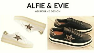 Alfie and Evie leather fashion comfort platform sneakers Alfie & Evie Pixie