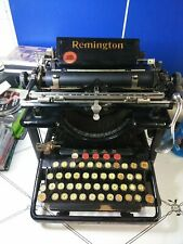 Remington Standard No. 10 Typewriter vintage  Antique early 1900s ...READ...