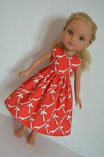 """Handmade Doll Clothes Dress fits 14"""" Hearts for Hearts H4H G2G Dolls Handcraft C"""