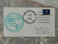 1976 Rose Head Station Re-established Event Cover, Perry Fl 13c Stamp