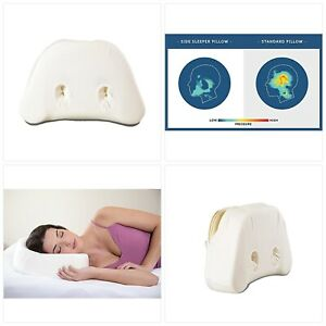 PureComfort - Side Sleeping Pillow | Height Adjustable | Ear Pain Relief | CPAP