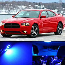 19x Premium Blue Interior LED Lights Package Upgrade for Dodge Charger