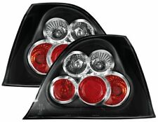 Rover 200 25 / MG / ZR (2001-2005) Black Rear Back Tail Lexus Lights Lamp - Pair