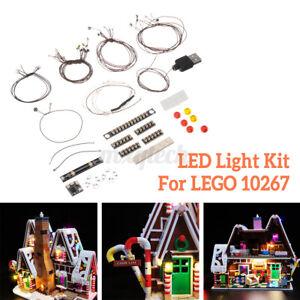 Luce LED Stringa Kit Per lego 10267 Creatore Zenzero Casa Modello