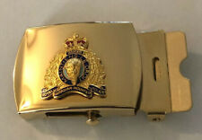 Royal Canadian mounted Police Belt Buckle 1970's MC-227