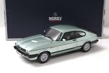 1:18 Norev Ford Capri 2,8 Injection 1982 light green NEW bei PREMIUM-MODELCARS