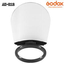 Godox AK-R12 Diffuser Plate Accessory For Godox H200R Godox V1 Round Flash Head