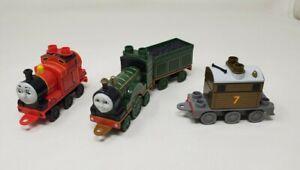 Mega Bloks Thomas The Train & Friends Trains Lot James, Toby Parts Engines