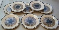 SET Of 8  LENOX PERCUSSION  TEMPER-WARE   Bread & Butter / Dessert Plates 6 1/2""