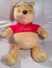"HUGE Winnie The Pooh Celebrating 80 Years Of Friendship 24"" Doll Plush Stuffed"
