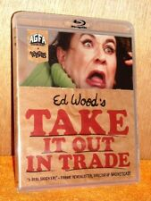 Take It Out In Trade (Blu-ray, 1970) NEW Ed Wood film surreal detective comedy