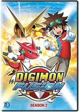 Digimon Fusion: Season 2 - 5 DISC SET (2016, REGION 1 DVD New)