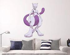 Mewtwo Pokemon Go Wall Decal Games Sticker Decor Vinyl Many Sizes Pokemons