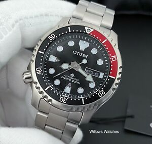 Citizen Promaster Automatic Mens 200m Divers Watch NY0085-86EE - Brand New