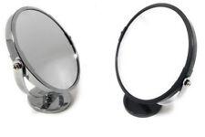 Specchio cosmetico da trucco con zoom da appoggio per barba rasatura ø 15 cm