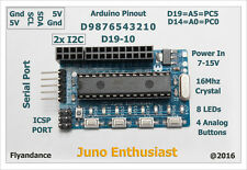 DIY kit Juno Enthusiast standalone arduino AVR Atmega8 smt smd Pro Nano Uno US