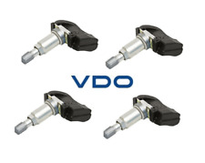 Set of 4 VDO REDI-Sensor TPMS Kits Replace OEM# 10306573 315 Mhz FM