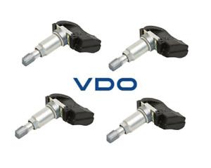 Set 4 VDO REDI-Sensor TPMS Kits Replace OEM# 10306573 315 Mhz FM