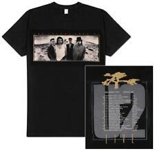 Official U2 - The Joshua Tree 1987 European Tour - Men's Black T-Shirt US IMPORT