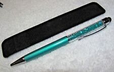 SPARKLING CRYSTALS 2 IN 1 STYLUS INK PEN FOR TOUCH SCREEN iPOD ASUS BLACKBERRY +