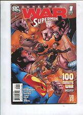 THE WAR OF THE SUPERMEN #1 - THE 100 MINUTE WAR BEGINS! - (9.2)