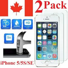 Premium Screen Protector Cover For iPhone 5S 5 5C & iPhone SE (2 PACK)