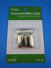 "DELUXE... SUSPENDER / MITTENS REPLACEMENT CLIPS  (2-PACK)    "" L@@K """
