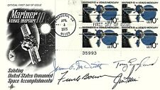 JIM IRWIN FRANK BORMAN JIM McDIVITT SIGNED POSTAL COVER NASA APOLLO 15 ASTRONAUT